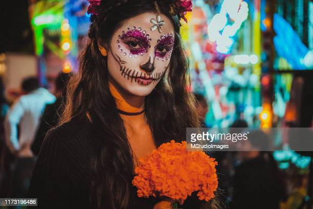 day of the dead - day of the dead festival stock photos and pictures