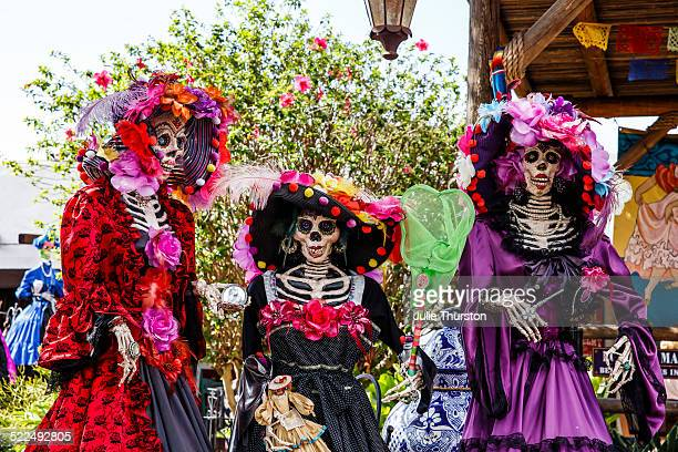 day of the dead  - old town san diego stock pictures, royalty-free photos & images