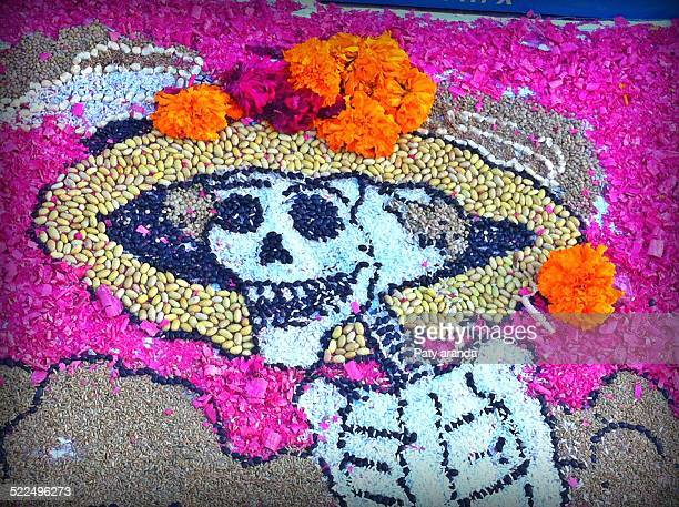 day of the dead  - la catrina stock photos and pictures