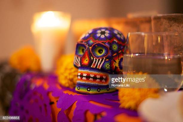 day of the dead  - altar stock pictures, royalty-free photos & images