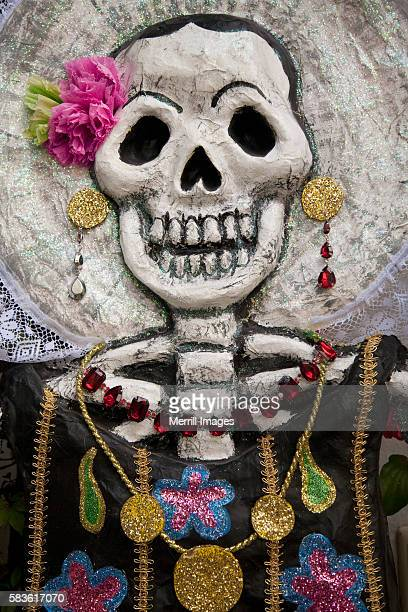 Day of the Dead skeleton art, Oaxaca, Mexico