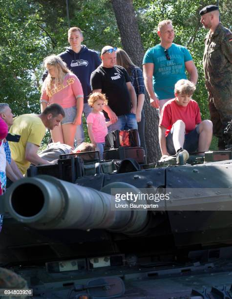 Day of the Federal Army in the General Field Marshal Rommel barracks in Augustdorf Open day for the population The enthusiasm is great but the...