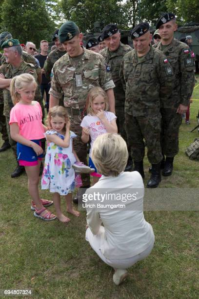 Day of the Federal Army in the General Field Marshal Rommel barracks in Augustdorf Open day for the population Federal Defense Minister Ursula von...