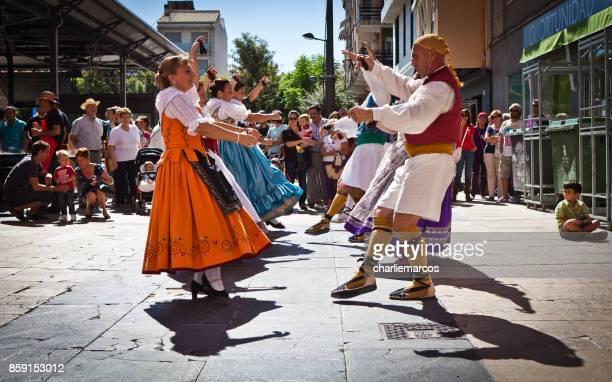 dia da comunidade valenciana - valência espanha - fotografias e filmes do acervo