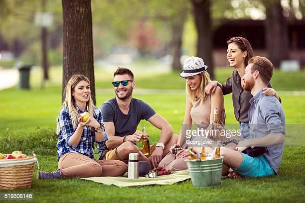 Tagesausflug mit Freunden