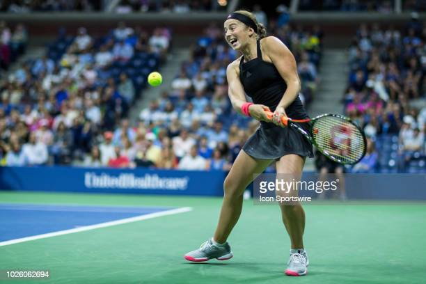 day six of the 2018 US Open on September 01 at Billie Jean King National Tennis Center in Flushing Meadow NY