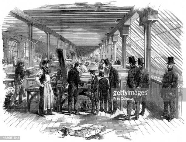 Day Son's lithography workshop 1856 The visit of the Prince of Wales and his brother Prince Alfred to Messrs Day and Son's lithographic establishment...