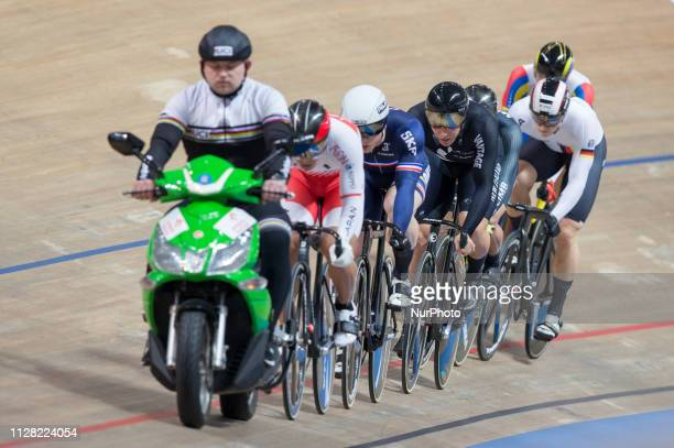 Day two of the UCI Track Cycling World Championships held in the BGZ BNP Paribas Velodrome Arena on February 28 2019 in Pruszkow Poland