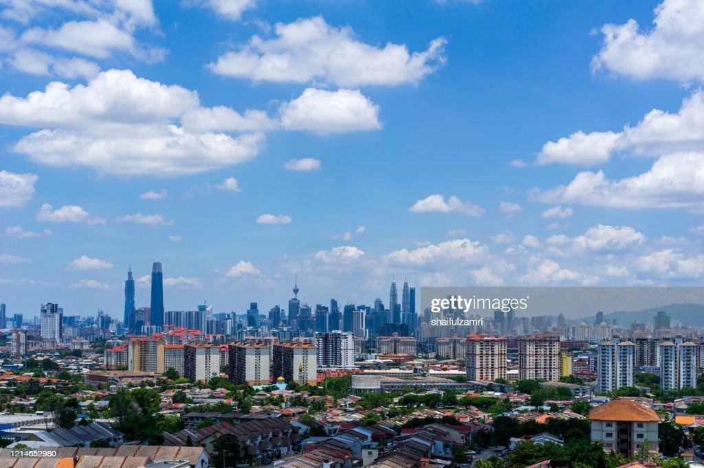 Day view of down town Kuala Lumpur, Malaysia. : Stock Photo