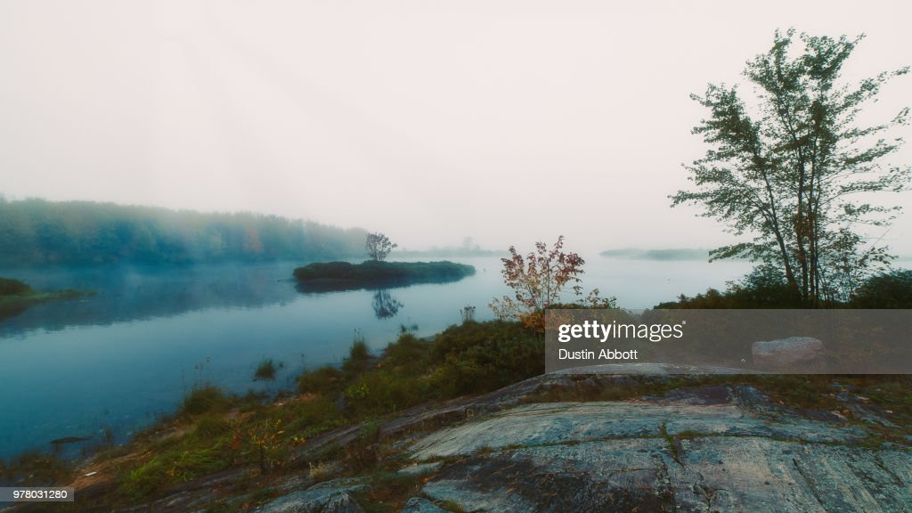 A Day Without Sun : Stock Photo