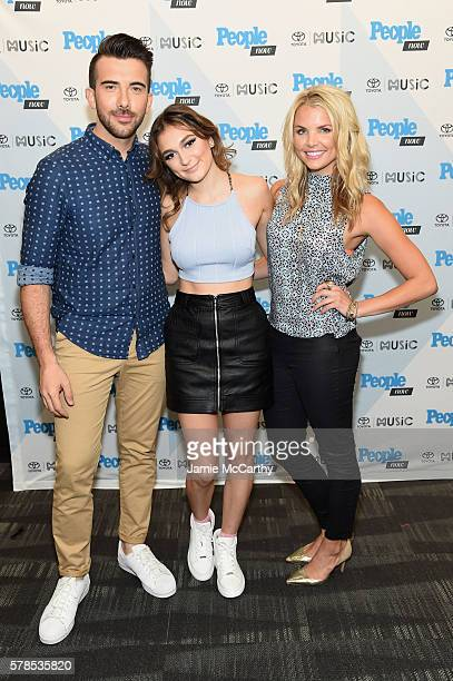 Daya and Andrea Boehlke attend the People Now Concert Series presented by Toyota Music on July 21 2016 in New York City