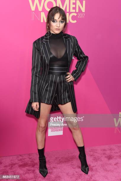 Daya attends the Billboard Women In Music 2017 Arrivals at The Ray Dolby Ballroom at Hollywood Highland Center on November 30 2017 in Hollywood...