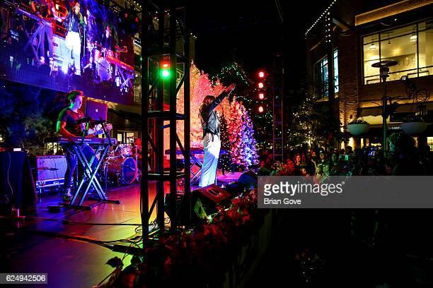 Daya performing at the Holiday Tree Lighting at The Village at Westfield Topanga on November 19 2016 in Woodland Hills California
