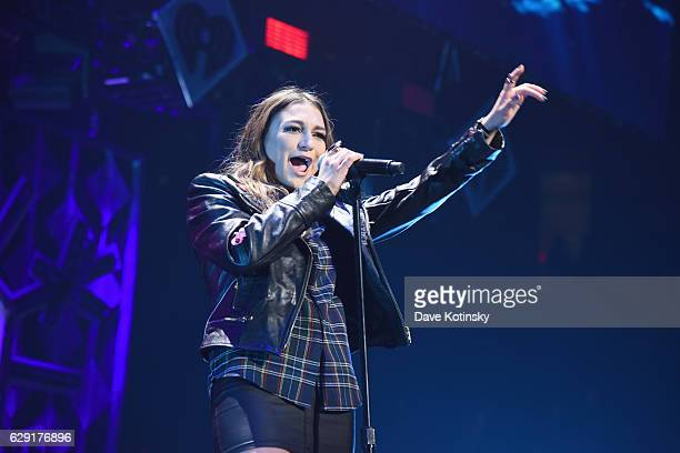 Daya performs on stage during KISS 108's Jingle Ball 2016 at TD Garden on December 11 2016 in Boston Massachusetts