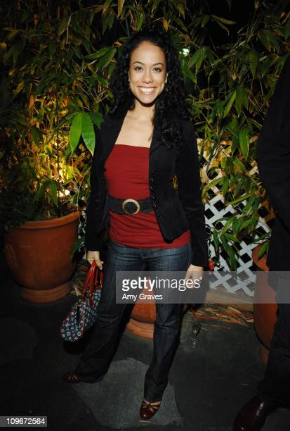 Daya Vaidya during Jesse Raudales and Terrence Howard Peace for the Children Art Show at PounderKone Artspace in Glendale California United States