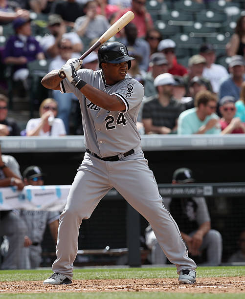 Dayan Viciedo of the Chicago White Sox