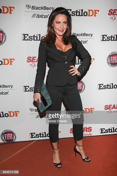 Dayana Garroz attends EstiloDF 3rd anniversary at Joy Room on November 27 2013 in Mexico City Mexico