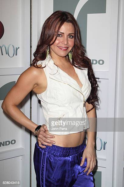 Dayana Garroz attends Perro Amor launch party at W Hotel on December 7 2009 in Miami Beach Florida