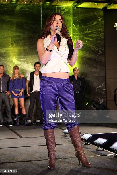 Dayana Garroz attends Telemundo's Perro Amor launch party at W Hotel on December 7 2009 in Miami Beach Florida