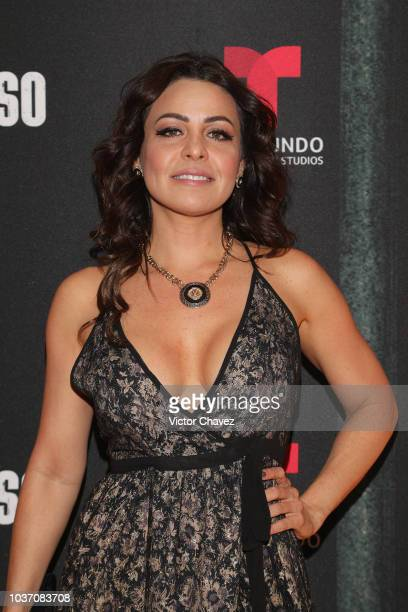 Dayana Garroz attends the special screening of Telemundo tv series El Recluso at Four Seasons Hotel on September 20 2018 in Mexico City Mexico