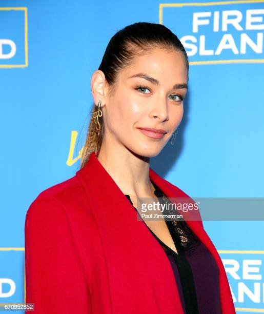 Dayana Mendoza attend the 'Fire Island' New York Premiere at Atlas Social Club on April 20 2017 in New York City