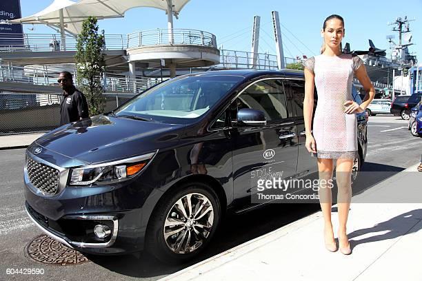 Dayana Mendoza attends Kia STYLE360 Hosts Raul Penaranda Spring 2017 Momentum Fashion Show on September 13 2016 in New York City