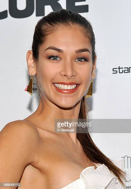 Dayana Mendoza attends Stand Up For A Cure 2013 at Madison Square Garden on April 17 2013 in New York City
