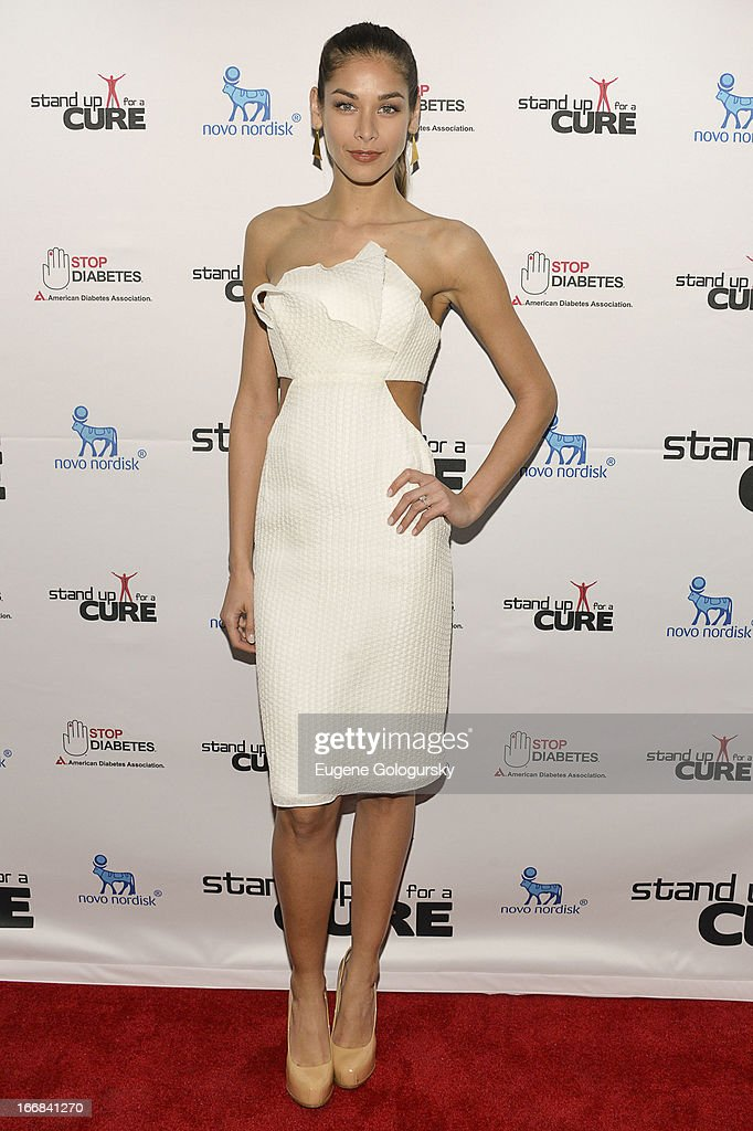 Dayana Mendoza attends Stand Up For A Cure 2013 at The Theater at Madison Square Garden on April 17, 2013 in New York City.
