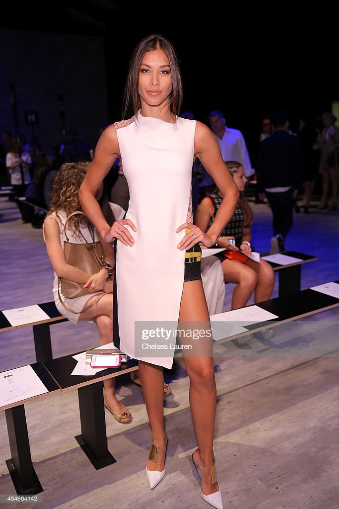 Angel Sanchez - Front Row - Mercedes-Benz Fashion Week Spring 2015