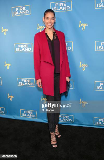 Dayana Mendoza attends the 'Fire Island' New York premiere at Atlas Social Club on April 20 2017 in New York City
