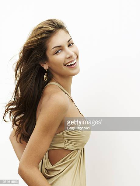 Dayana Mendoza Miss Universe 2008 poses at a portrait session in 2008 for People en Espanol PUBLISHED IMAGE