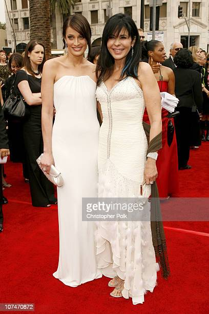 Dayanara Torres and Maria Conchita Alonso during 33rd Annual Daytime Emmy Awards Red Carpet at Kodak Theater in Hollywood California United States