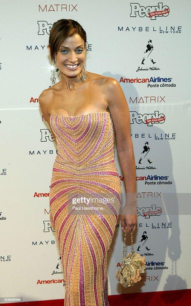 Dayanara Torres Delgado attends the 'People En Espanol' 50 Most Beautiful People Gala at Splashlight Studios May 19, 2004 in New York City.