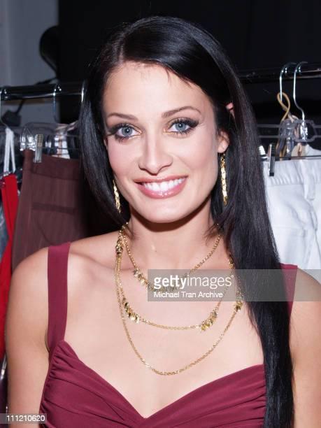 Dayanara Torres designer during MercedesBenz Spring 2007 Los Angeles Fashion Week at Smashbox Studios Metro 7 Backstage and Front Row at Smashbox...