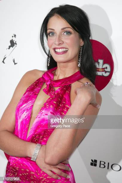 Dayanara Torres during People En Espanol's 4th Annual 50 Most Beautiful Gala White Carpet Arrivals at Capitale in New York City New York United States
