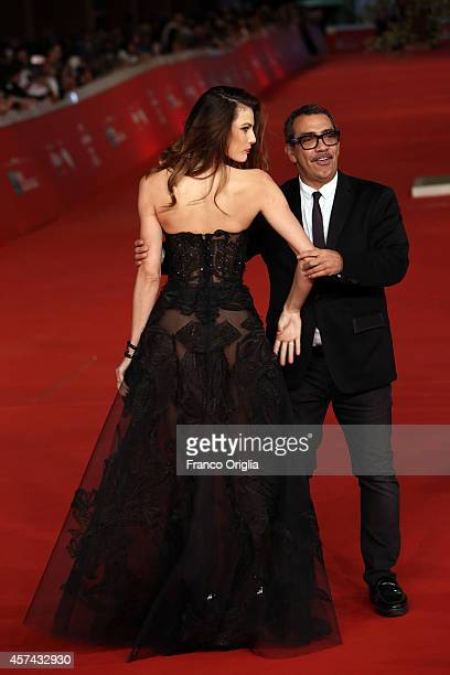 Dayane Mello and Guillermo Mariotto attend the 'Still Alice' Red Carpet during the 9th Rome Film Festival on October 17 2014 in Rome Italy