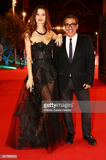 Dayane Mello and Guillermo Mariotto attend the 'The Knick' Red Carpet during the 9th Rome Film Festival on October 17, 2014 in Rome, Italy.