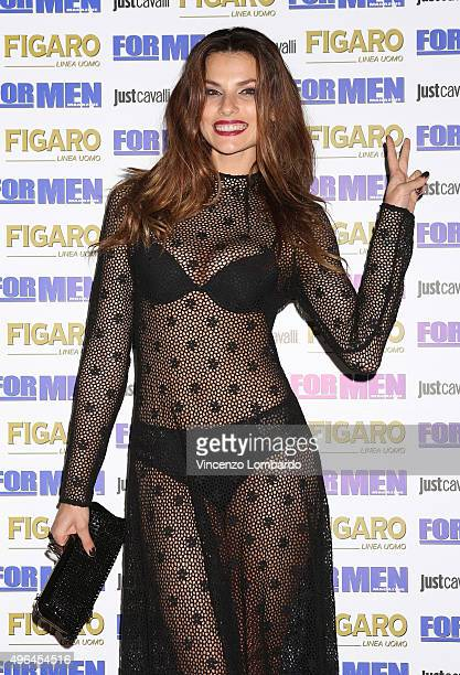 Dayane Mello attends the For Men Magazine 2016 Maxi Calendar dinner party on November 9 2015 in Milan Italy