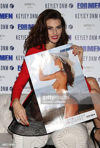 Dayane Mello attends the Formen Maxi Calendar Presentation on December 9 2014 in Milan Italy
