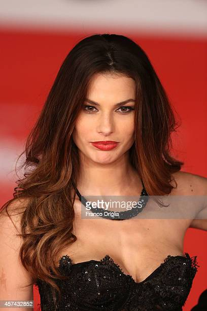 Dayane Mello attends the 'Still Alice' Red Carpet during the 9th Rome Film Festival on October 17 2014 in Rome Italy