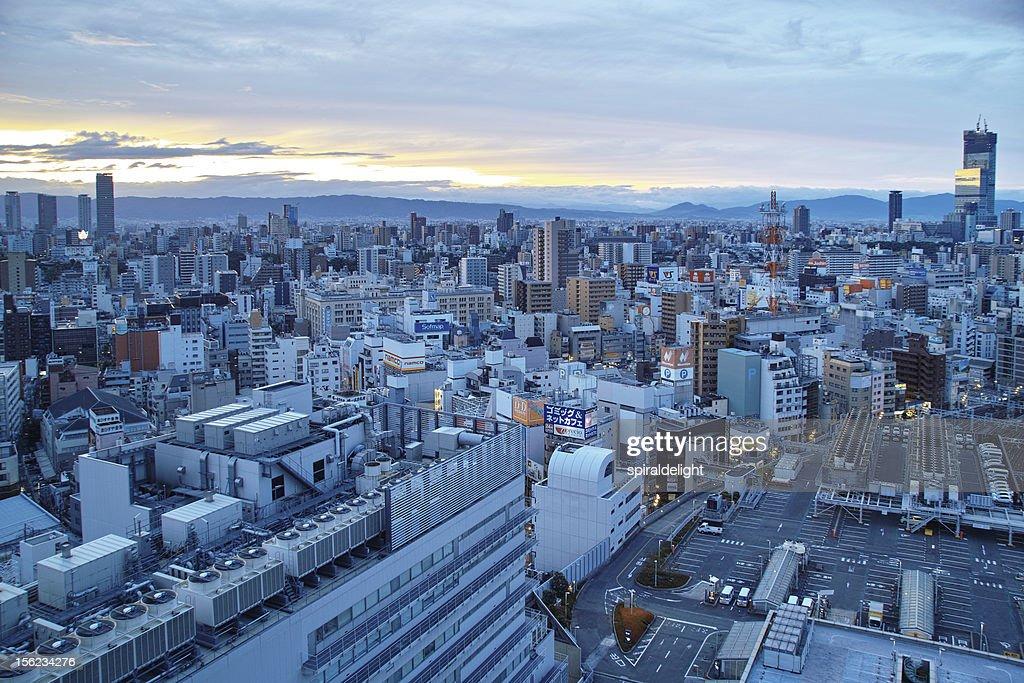 Daybreak Osaka : Stock Photo