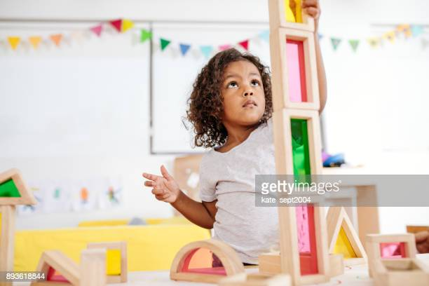 daycare activities for toddlers - preschool stock photos and pictures