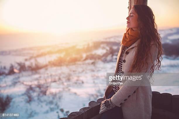 Daydreamer of white expanse