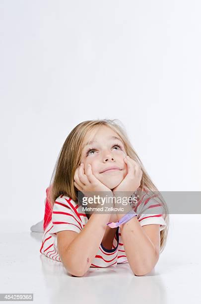Daydreaming Little Girl
