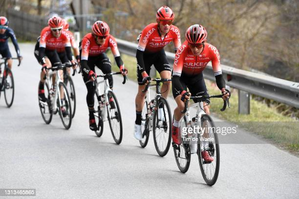 Dayer Uberney Quintana Rojas of Colombia and Team Arkéa - Samsic during the 44th Tour of the Alps 2021, Stage 2 a 121,5km stage from Innsbruck to...