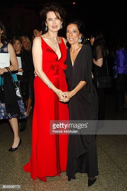 Dayle Haddon and Faith Kates Kogan attend L'OREAL Legends Gala Benefiting The OVARIAN CANCER RESEARCH FUND at The American Museum of Natural History...