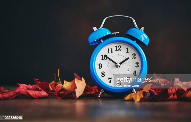 daylight savings time. clocks fall back - novembro azul - fotografias e filmes do acervo