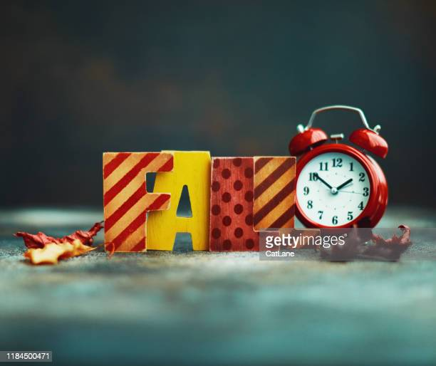 daylight savings time. clocks fall back. - daylight saving time stock pictures, royalty-free photos & images
