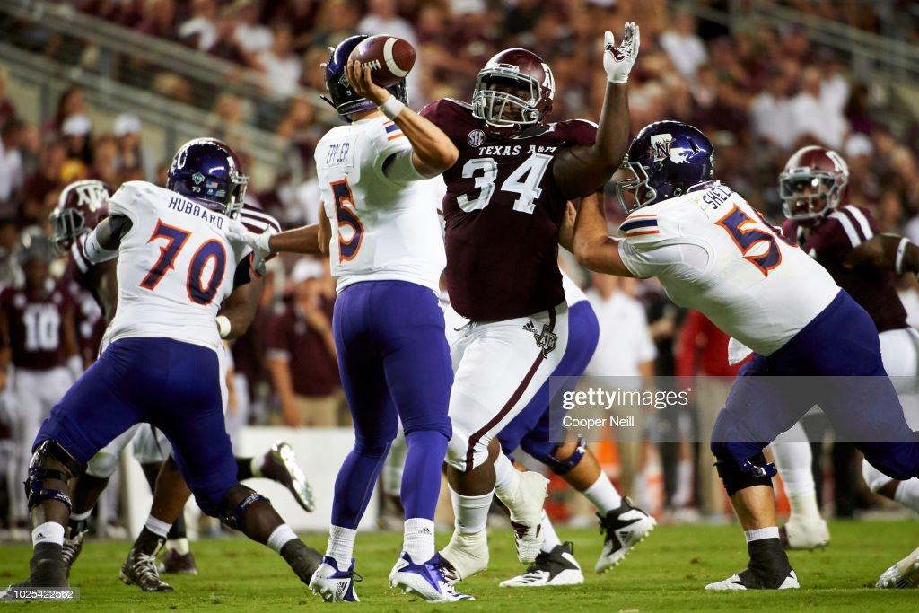 Northwestern v Texas A&M : News Photo