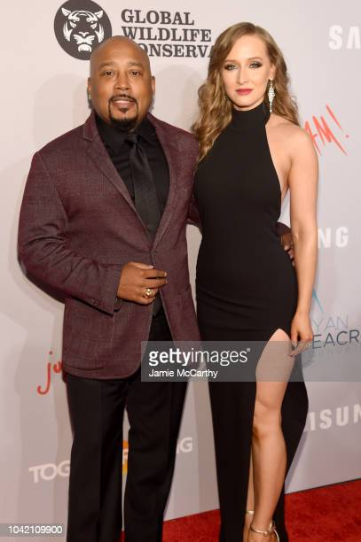 Daymond John and Heather Taras attend the Samsung Charity Gala 2018 at The Manhattan Center on September 27 2018 in New York City